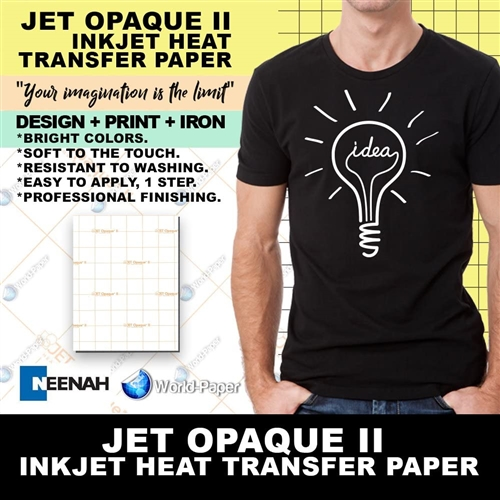 Heat Transfer Paper Iron On for T Shirt