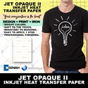 Jet Opaque Heat Transfer Paper